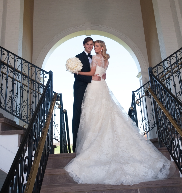 Ivanka Trump And Jared Kushner Celebrity Weddings Online